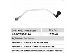 1573YG 1573XQ Peugeot - Citroen Yakıt Filtre Hortumu