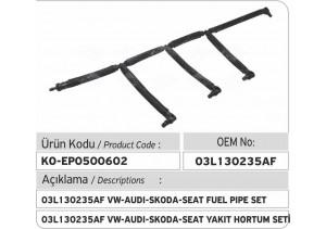 03L130235AF VW-Audi-Skoda-Seat Yakıt Hortum Seti