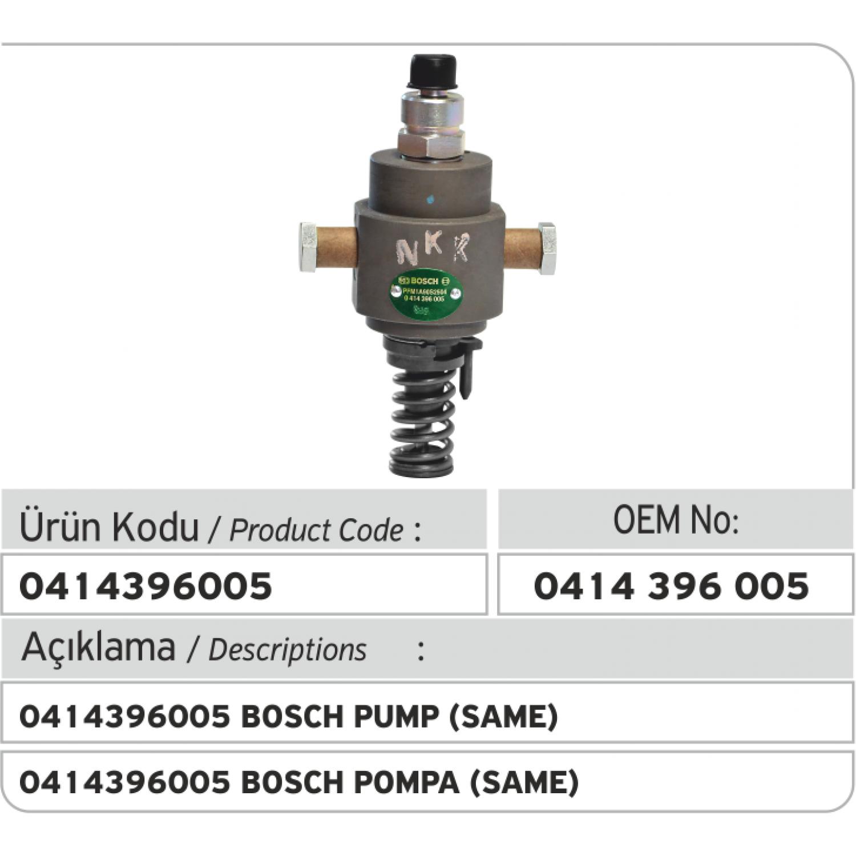 0414396005 Bosch Pompa