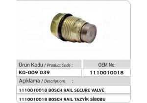1110010018 Bosch Basınç Sınırlama Valfi