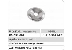 1410501072 Audi Ateşleme Pulu (6.00 mm)