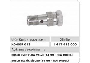 1417413000 Bosch Bilyalı Tazyik Sibobu (14 mm Yeni Model)