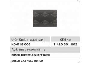 1420301002 Bosch Gaz Kolu Burcu