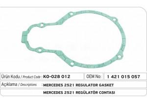 1421015057 Mercedes 2521 Regülatör Contası