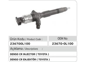 23670-0L100 Denso Common Rail Enjektör (Toyota)