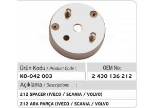 2430136212 Ara Parça (Iveco-Scania-Volvo)