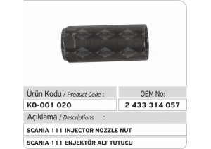 2433314057 Scania 111 Enjektör Tutucusu