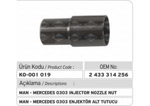 2433314256 Man Mercedes 0303 Enjektör Tutucusu