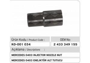 2433349155 Mercedes 0403 Enjektör Tutucusu