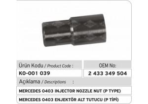 2433349504 Mercedes 0403 Enjektör Tutucusu (P type)