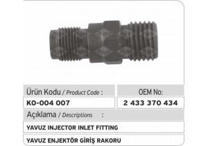 2433370434 Yavuz Enjektör Giriş Rakoru