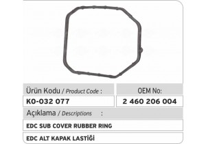 2460206004 EDC Alt Kapak Lastiği