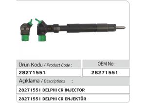 28271551 Delphi CR Enjektör