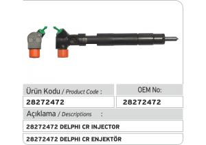 28272472 Delphi CR Enjektör