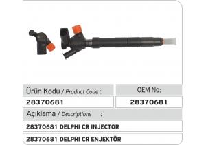 28370681 Delphi Enjektör (Volkswagen 04L130277D)