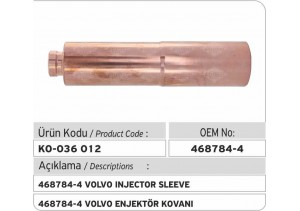 468784-4 Volvo Enjektör Kovanı