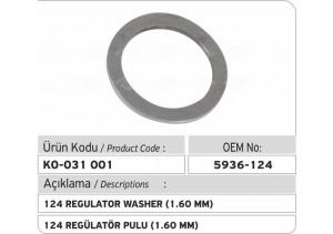5936-124 Regülatör Pulu (1.60 mm)