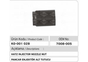 7008-005 Hatz Enjektör Tutucusu