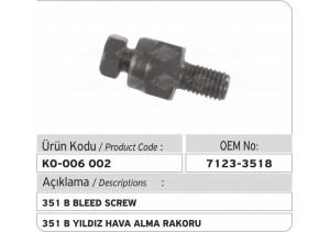 7123-351B Hava Alma Rakoru