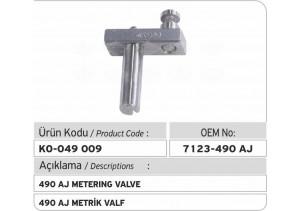 7123-490 AJ Metrik Valf