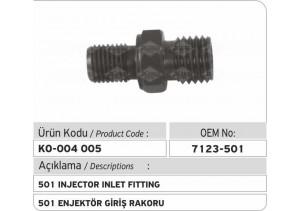 7123-501 Enjektör Giriş Rakoru
