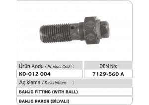 7129-560A Banjo Rakor (bilyalı)