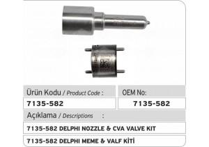 7135-582 Delphi Meme ve CVA Valf Kiti