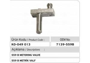 7139-559 B Metrik Valf