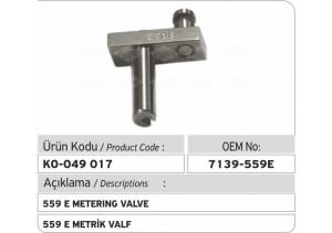 7139-559 E Metrik Valf