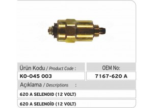 7167-620A Selenoid