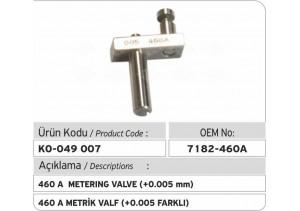 7182-460 A Metrik Valf