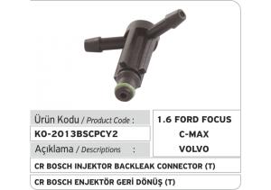 Bosch Common Rail Enjektör Geri Dönüş Plastiği  T (1.6 Ford Focus, Ford CMax, Volvo...)