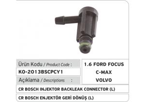 Bosch Common Rail Enjektör Geri Dönüş Plastiği  L (1.6 Ford Focus, Ford CMax, Volvo...)