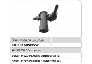 Bosch Piezo Enjektör Geri Dönüş Plastiği L
