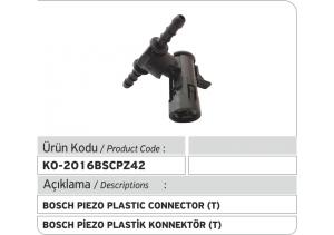 Bosch Piezo Enjektör Geri Dönüş Plastiği T