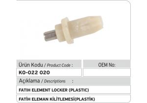 Fatih - Cummins Eleman Kilitlemesi (plastik)