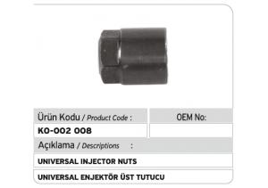 Universal Enjektör Üst Tutucu