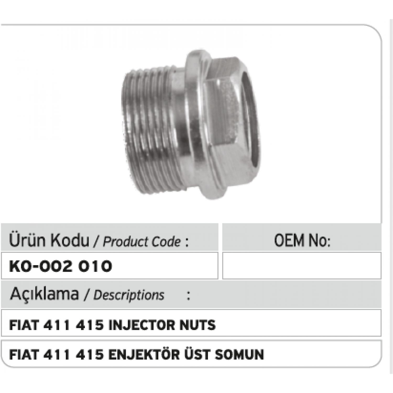 Fiat 411 415 Enjektör Üst Tutucu