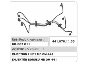 441.070.11.33 MB OM 441 Enjektör Borusu
