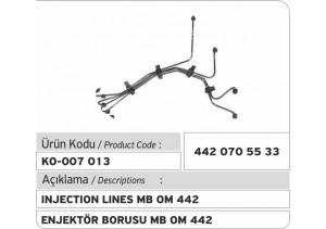 442.070.55.33 MB OM 442 Enjektör Borusu