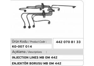442.070.81.33 MB OM 442 Enjektör Borusu