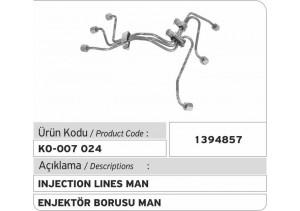 1394857 MAN Enjektör Borusu