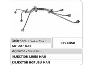 1394858 MAN Enjektör Borusu
