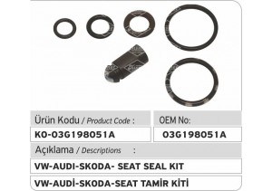 03G198051A Siemens Injector Repair Kit