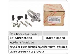 04226-0L020 Denso Common Rail Pump Suction Control Valve (TOYOTA)