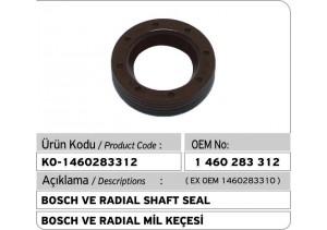 1460283312 Bosch VE Radial Shaft Seal (1460283310)