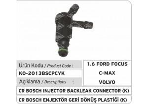 Bosch Common Rail Enjektör Geri Dönüş Plastiği  K (1.6 Ford Focus, Ford CMax, Volvo...)