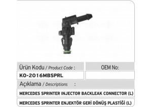 Mercedes Sprinter Enjektör Geri Dönüş Plastiği L