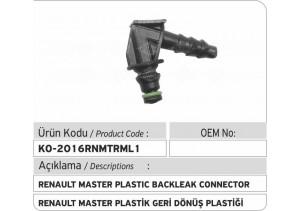 Renault Master Geri Dönüş Plastiği L