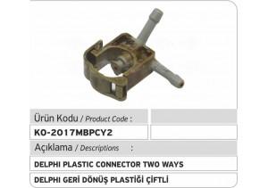 Delphi Geri Dönüş Plastiği (Mercedes) çiftli